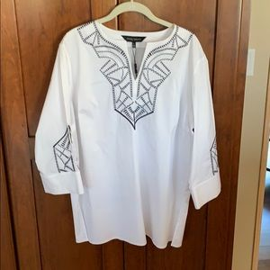 Ming Wang tunic top from Nordstrom!
